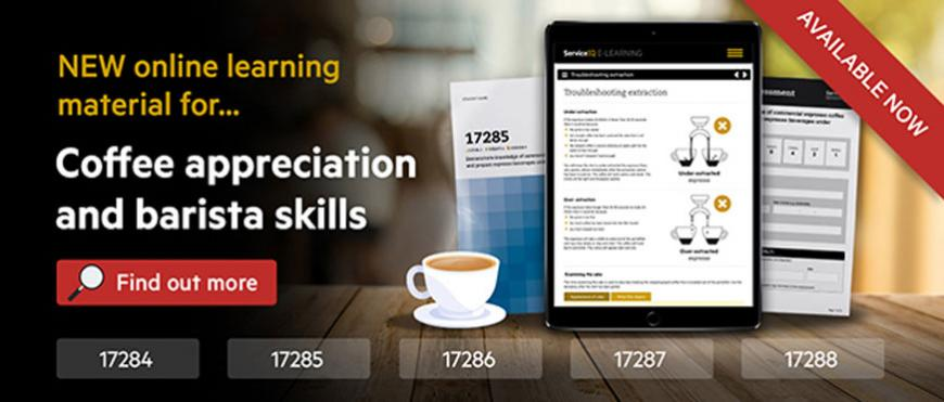 New online learning material for teaching coffee