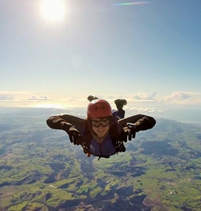 New Skydiving Diploma drops out of the blue thumb
