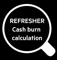 REFRESHER Cash burn thumb